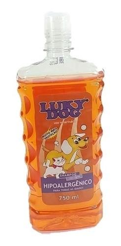 Shampoo Lucky Dog hipoalergênico mais alergovet C 1,4 mg