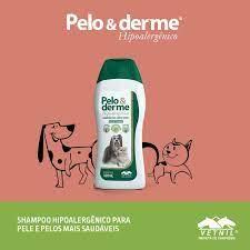 Shampoo Pelo E Derme Hipoalergênico Vetnil  gratis brinde
