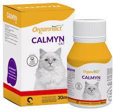 Suplemento Alimentar Organnact Calmyn Cat 30ml Calmante