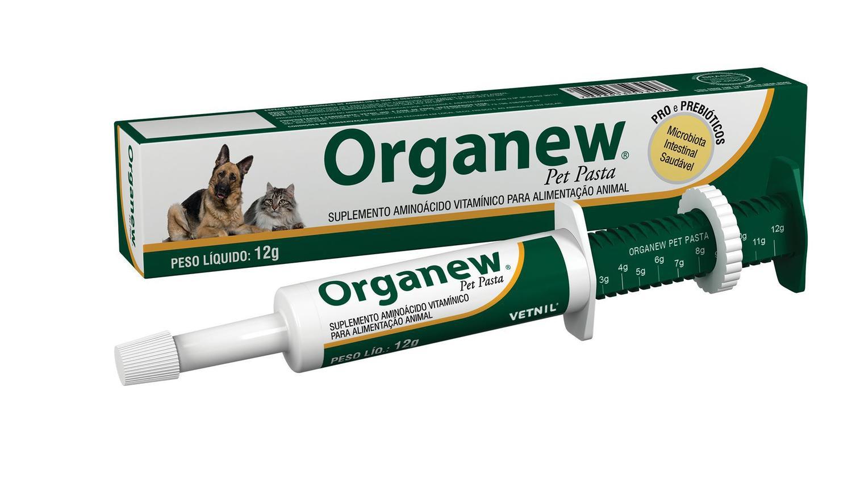 Suplemento Vitamínico Organew Forte Probiótico + Prebiótico Pasta