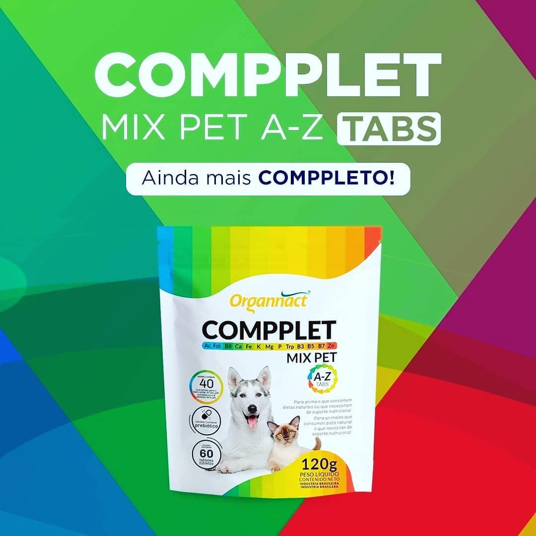 Suplemento Vitamínico Organnact Compplet Mix Pet A-Z