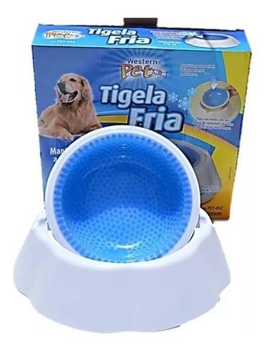 Tigela Fria Gelada Bebedouro Cães Gatos
