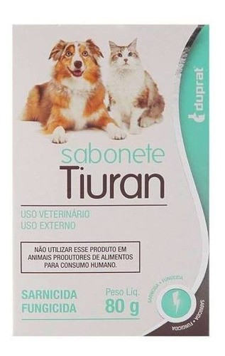 Tiuran  Aerosol com 125 ml + TRES Sabonete 80g  Duprat kit
