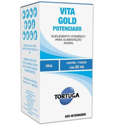 Vitagold Potenciado 50ml Suplemento Vitaminico kit com 2 unidades