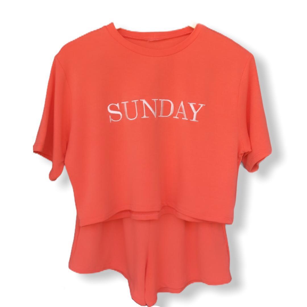 Conjunto Sunday em Moletinho Viscose com Elastano Curto