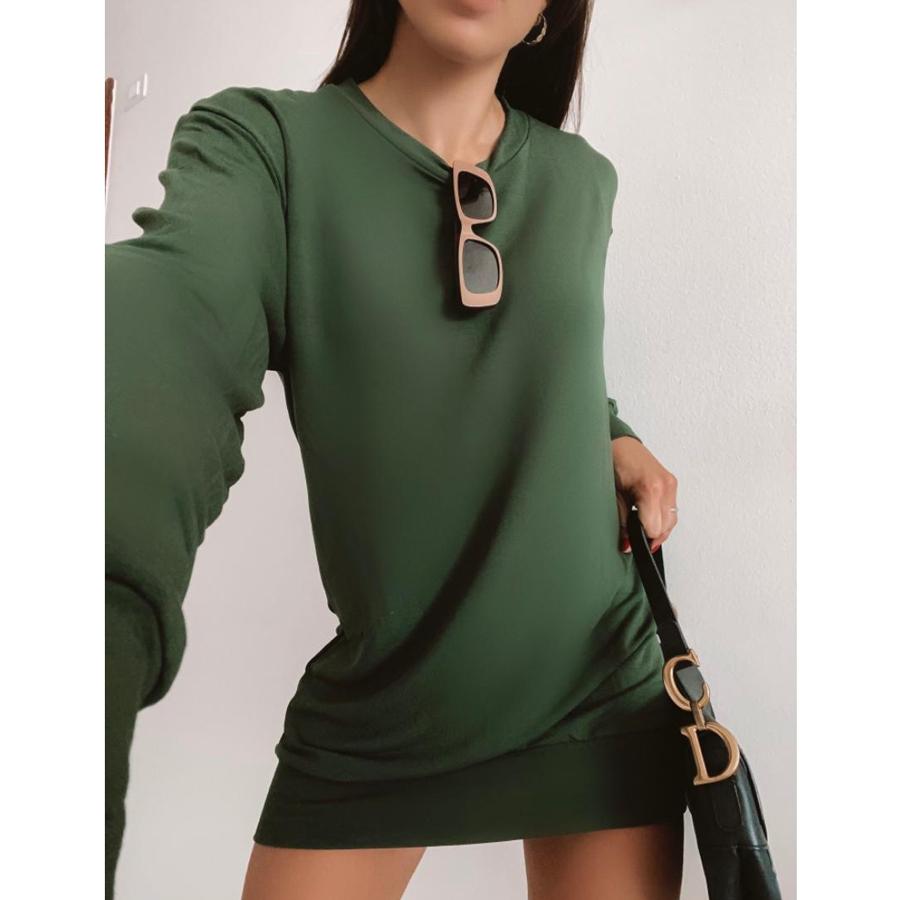 Vestido Maxi Blusão Strong Moletinho de Viscose