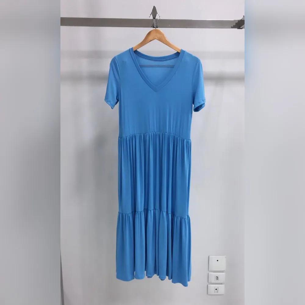Vestido Midi em Malha