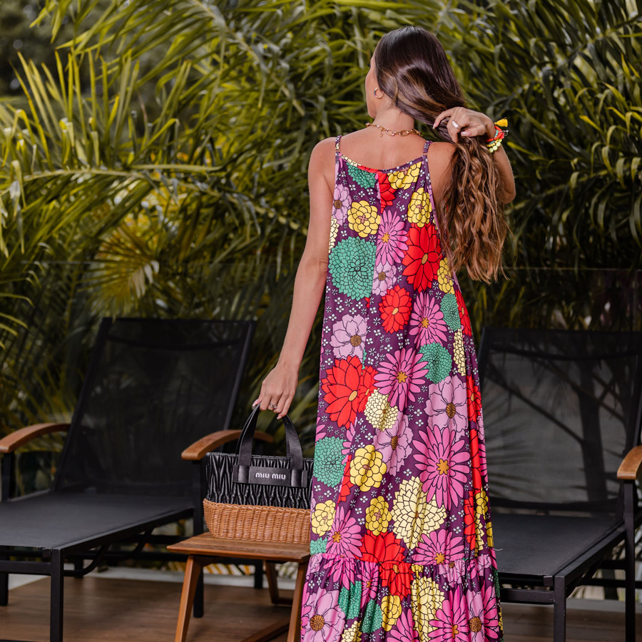 Vestido Regata Floral Fluit