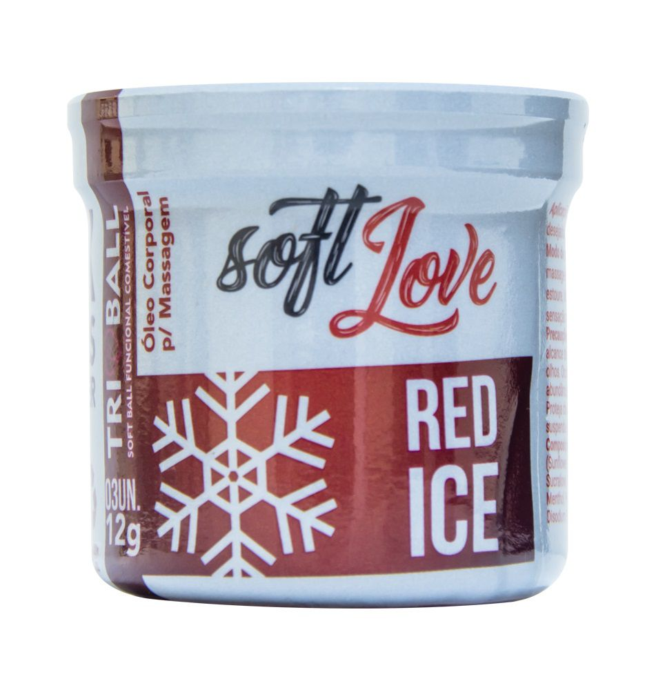 BOLINHA EXLOSIVA TRIBALL RED ICE