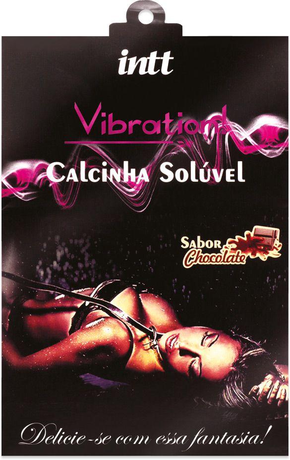 CALCINHA COMESTÍVEL VIBRATION CHOCOLATE