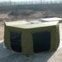 Sala Anexo do Toldo Automotivo Asa de Morcego 2,5M PLUS - Verde   Pronta Entrega