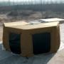 Sala Anexo do Toldo Automotivo Asa de Morcego - Bronze   <b> Despacho estimado 10/09</b>