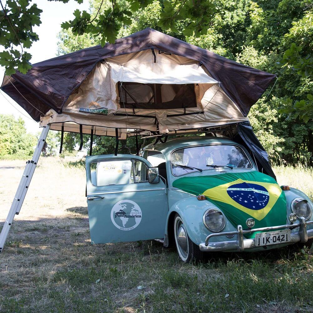 Barraca de Teto Automotiva Adventure (1 a 3 Pessoas)