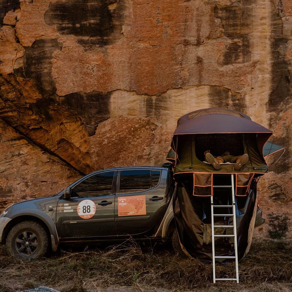 Barraca de Teto Adventure DELUXE (1 a 3 Pessoas) DESPACHO 29/12