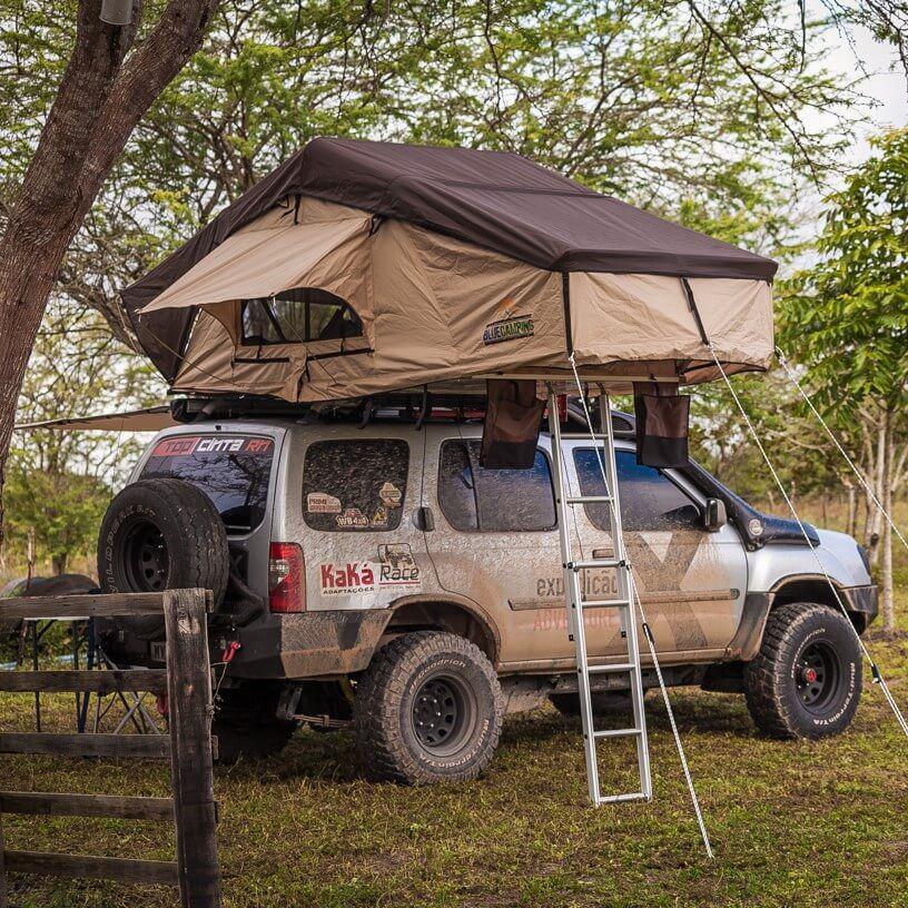 Barraca de Teto Automotiva Expedition (1 a 5 Pessoas)