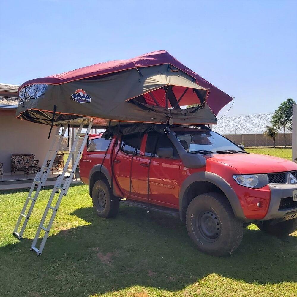 Barraca de Teto Expedition DELUXE 2,0M (5 Pessoas) | Pronta Entrega