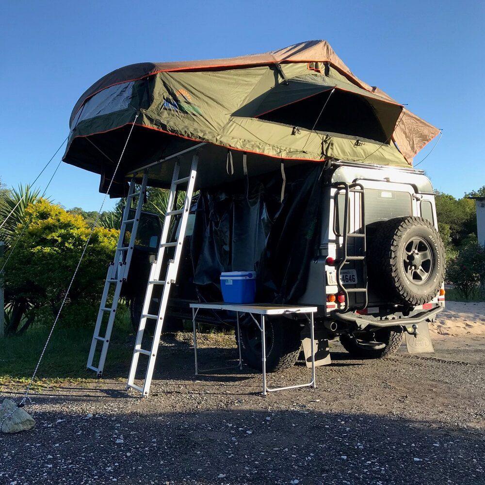 Barraca de Teto Automotiva Expedition DELUXE (De 1 até 5 Pessoas)
