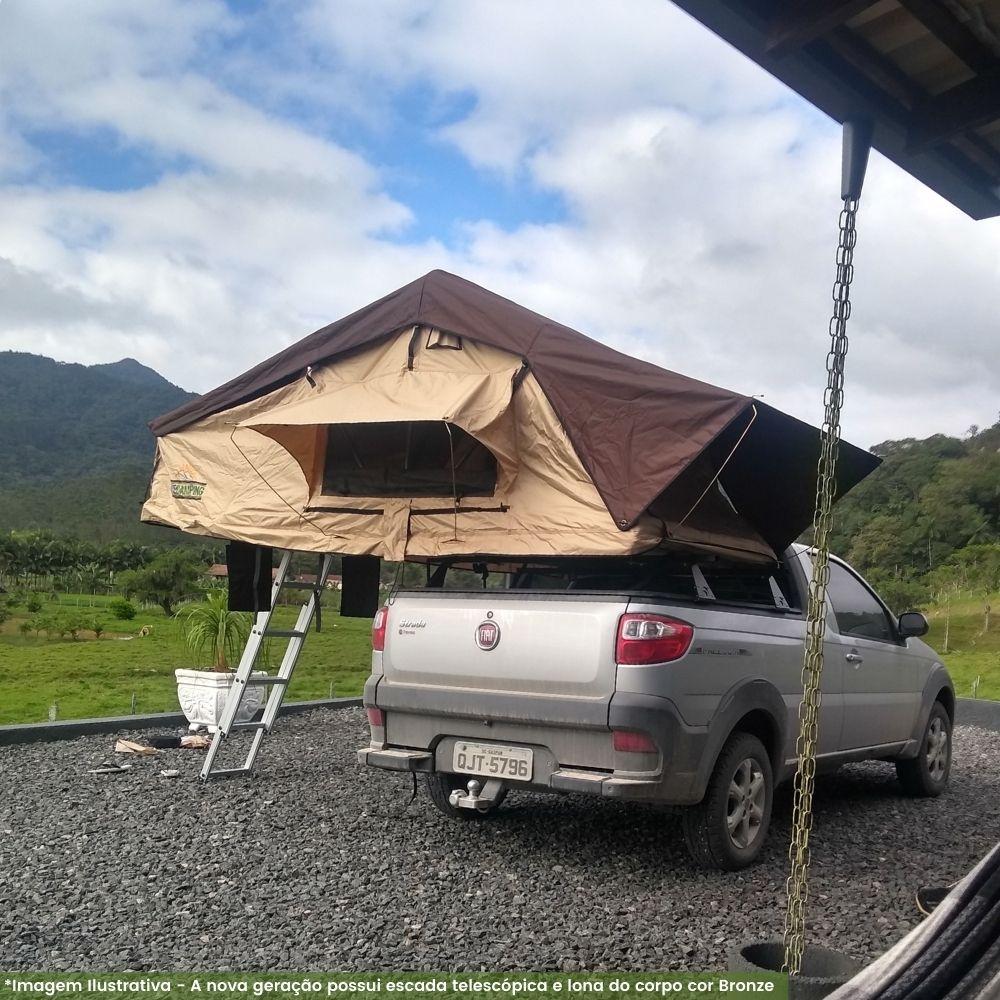Barraca de Teto Expedition Tradicional 1,6M (4 Pessoas)  <b>Despacho Estimado 29/11 </b>