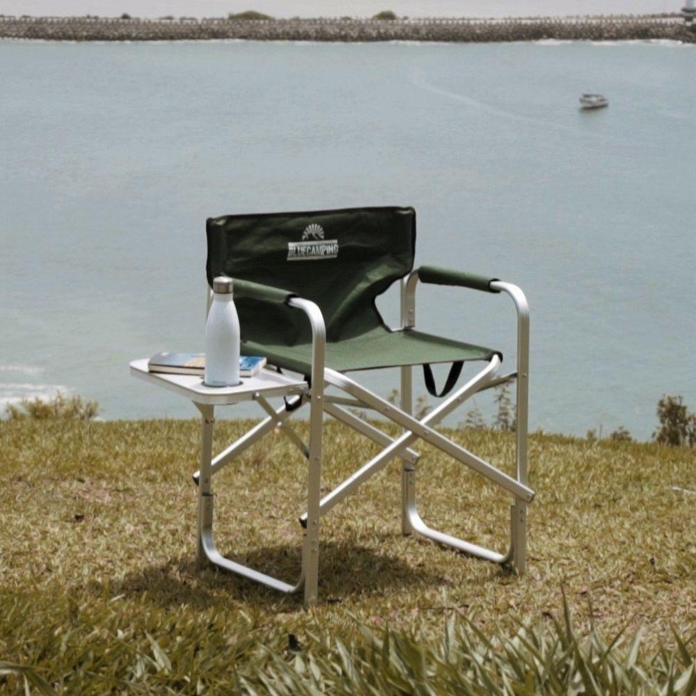 Cadeira Dobrável Para Caming de Alumínio