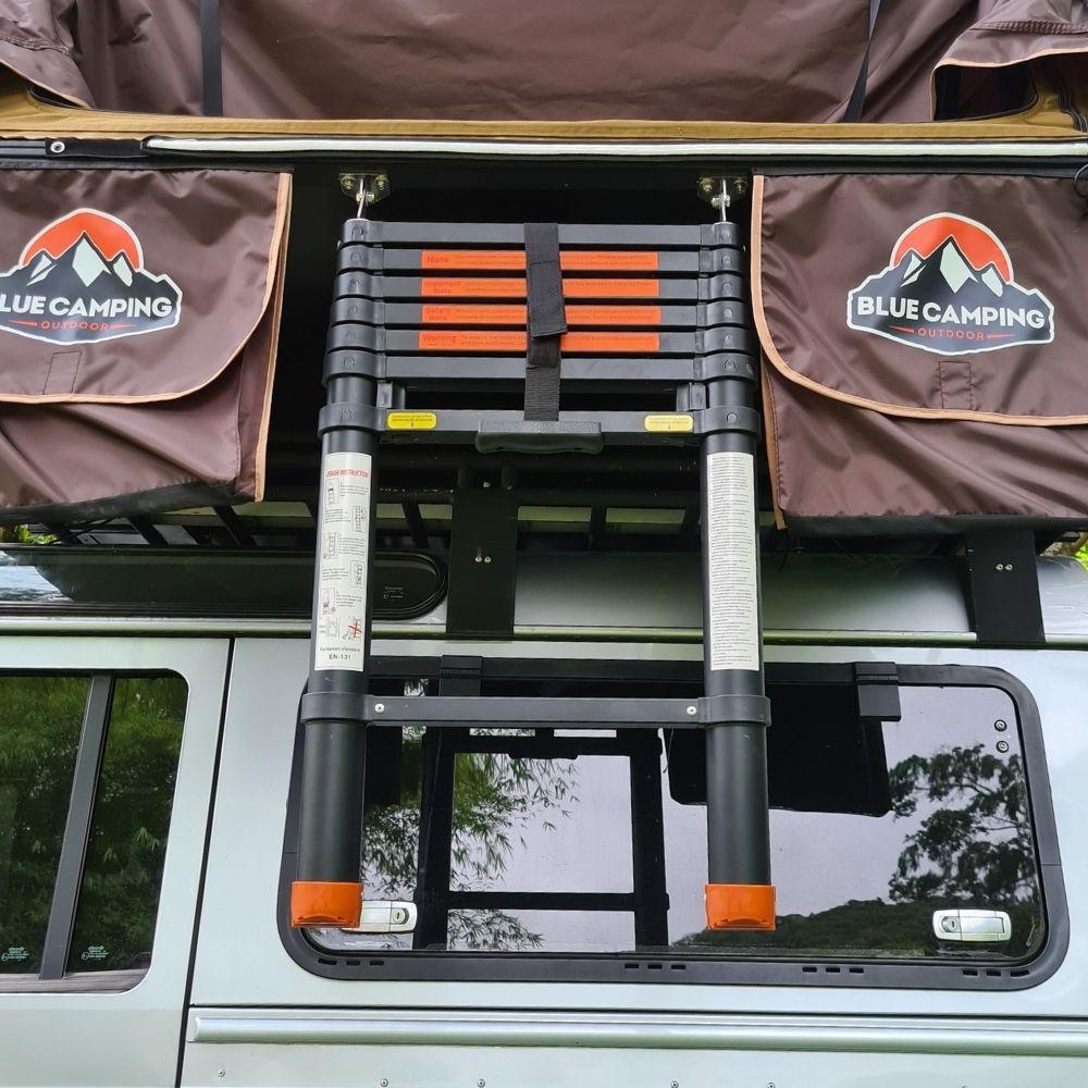 Escada Telescópica Para Barraca de Teto Automotiva