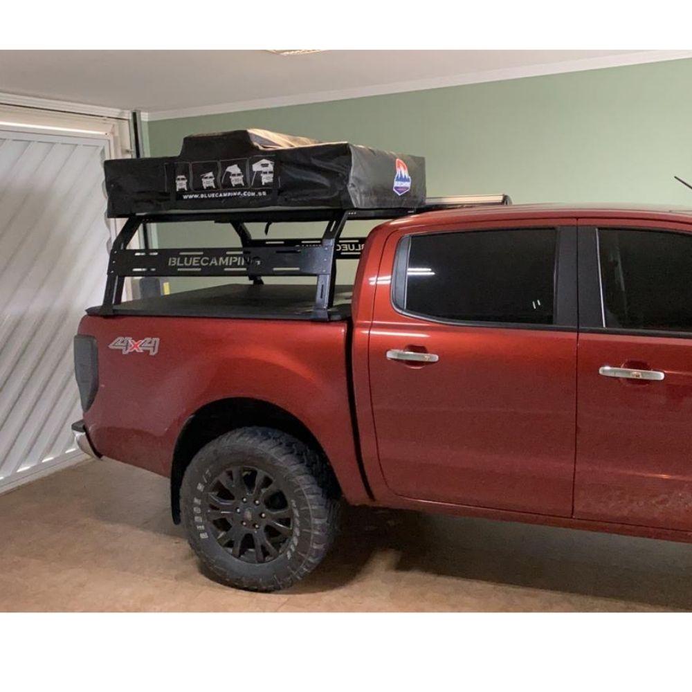 Rack Alto Premium Para Caçamba de Caminhonetes