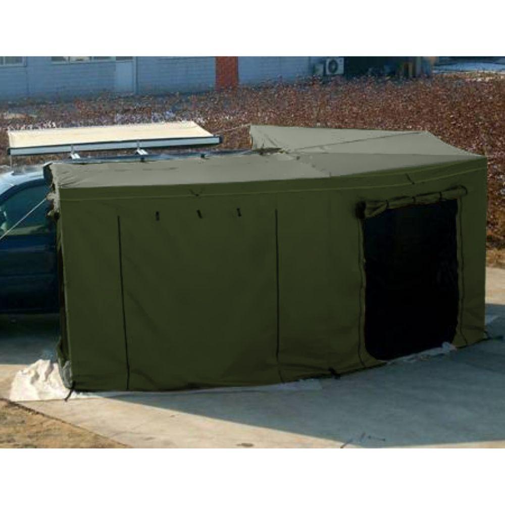 Sala Anexo do Toldo Automotivo Asa de Morcego 2,5M PLUS - Verde   <b> Despacho estimado 10/09</b>