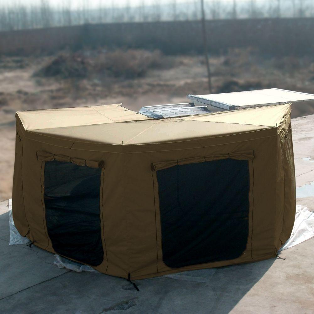 Sala Anexo do Toldo Automotivo Asa de Morcego - Bronze | <b> Despacho estimado 10/09</b>