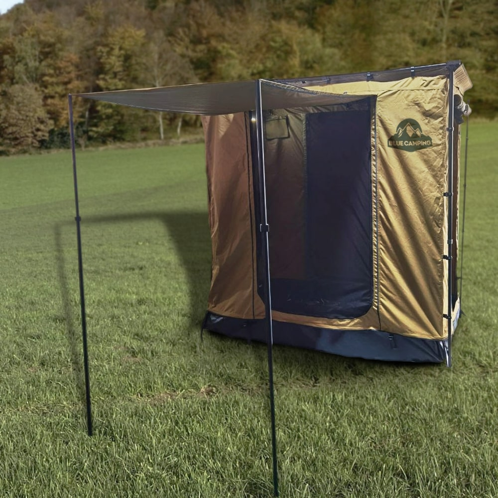 Sala Anexo Premium de Toldo Lateral Bronze com Piso | Despacho Estimado 25/10
