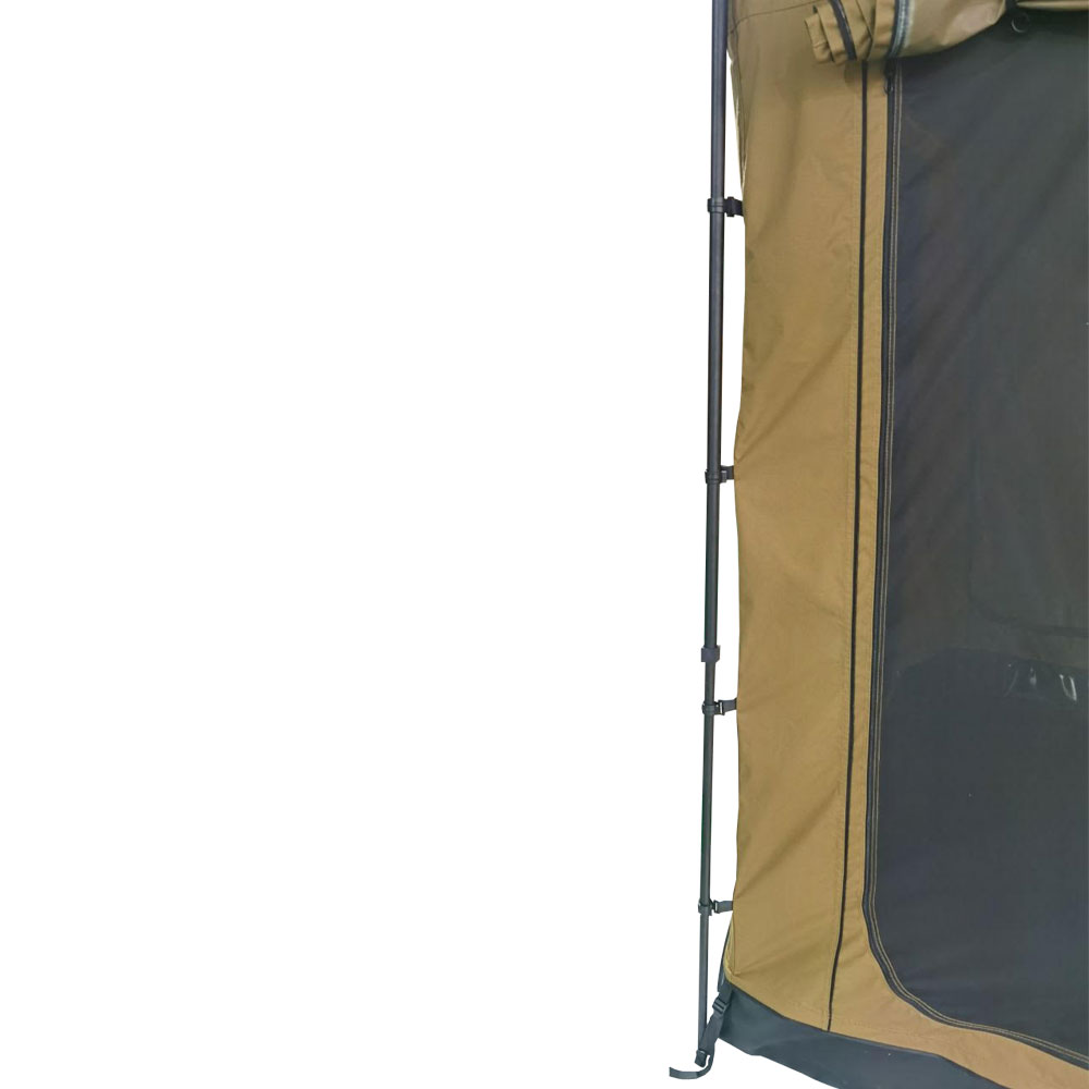 Sala Anexo Premium de Toldo Lateral Bronze com Piso | Despacho 25/10