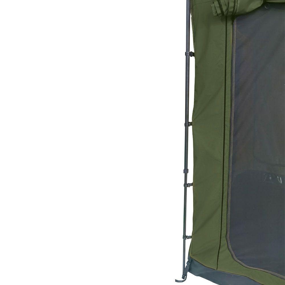 Sala Anexo Premium de Toldo Lateral Verde com Piso | Despacho Estimado 25/10