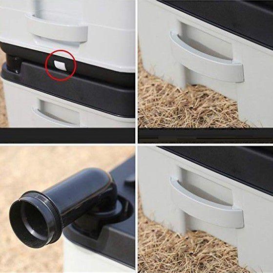 Sanitário/Privada Portátil Porta Potti 24L PLUS