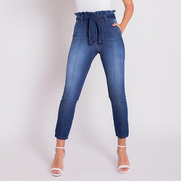 Calça Jeans Areazul Clochard Feminina