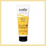 Protetor solar FPS 30 corpo e rosto (toque seco com antioxidantes)