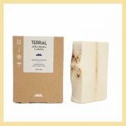 Sabonete em barra Argila Branca e Lavanda (revitalizante e calmante)