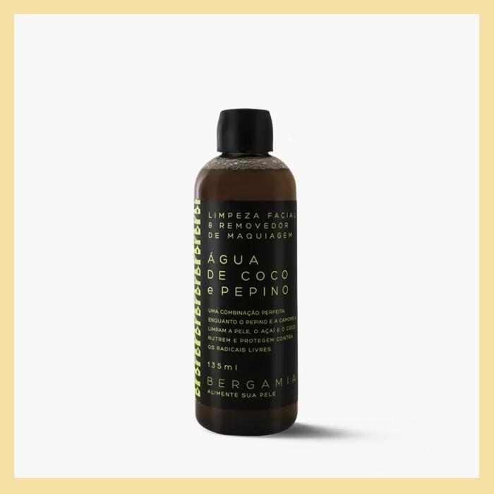 Água de limpeza facial (demaquilante e antipoluição)