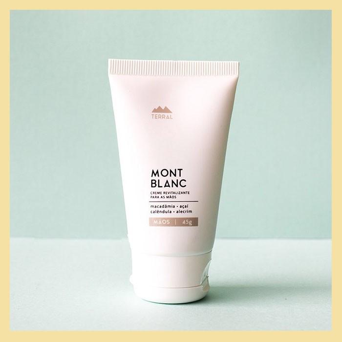 Creme para mãos Mont Blanc (hidratação revitalizante)