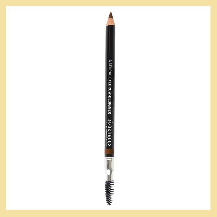 Lápis de sobrancelha com escova para esfumar