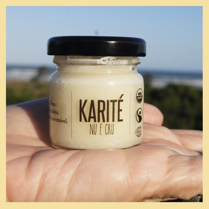 Manteiga de Karité pura 30g