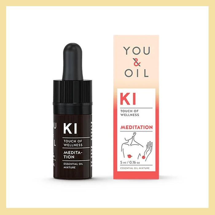 Óleo essencial blend KI Meditação (auxílio na concentração e relaxamento)