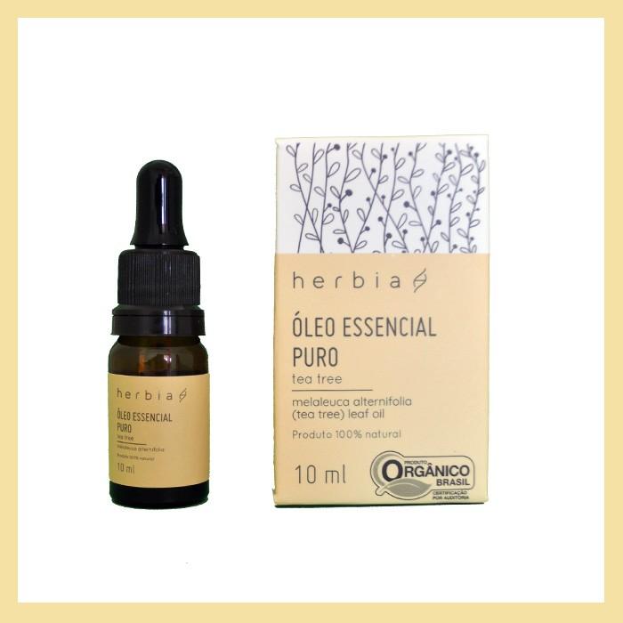 Óleo essencial puro Tea Tree / Melaleuca (anti-inflamatório e antifúngico)