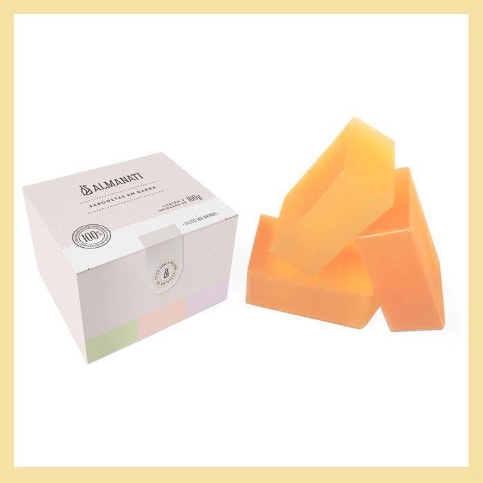 Sabonete em barra Glicerinado Cx Fragrâncias (3un)