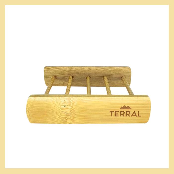 Saboneteira de bambu vazada (biodegradável)