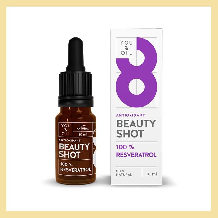 Sérum Beauty Shots n8 Resveratrol (antioxidante e anti-inflamatório)