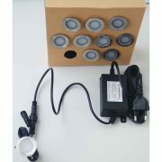 balizador GRANELLO inox 30K kit com 10 peças + fonte ilunato ILT1680