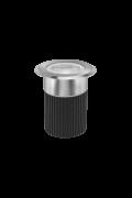 embutido de solo FOCCO INOX 30º 10W Stella STH8707/30