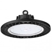 luminária CAPANNONE 6.000K preto industríal ilunato ILT1660