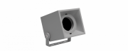 SPOT EXTERNO CUBE CINZA STH8701