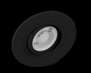 spot embutido SAVE ENERGY preto 1Xdicróica click plano GU10 SE-330.1037EQ