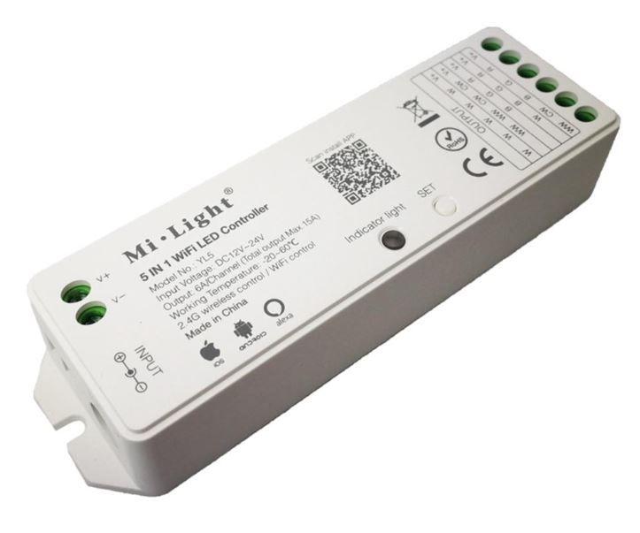 Módulo de Automação Wi-Fi Dimmer RGBCCT e regulador de fluxo ilunato - ILT2160