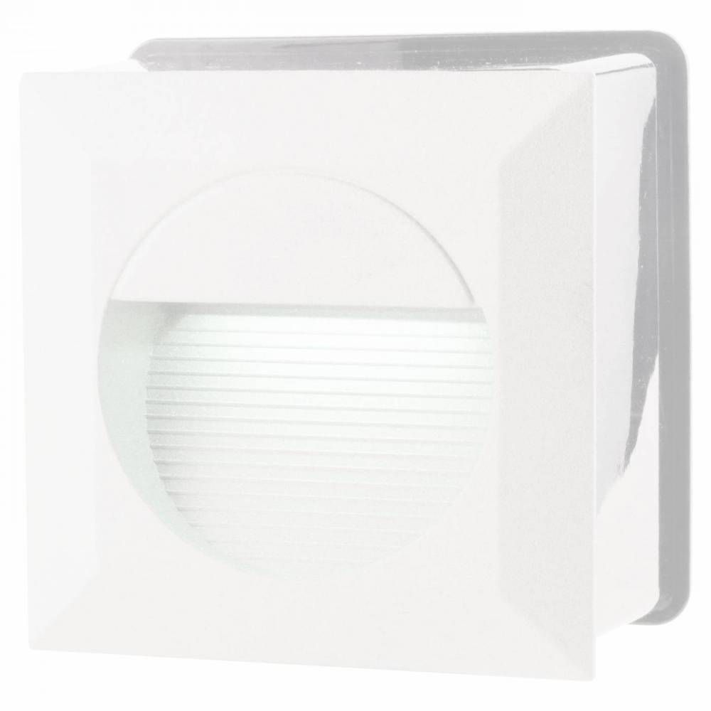 BALIZADOR DASH 7,5cm x 12,5cm x 12,5cm  1 x LED 6W 127V / 220V BRANCO